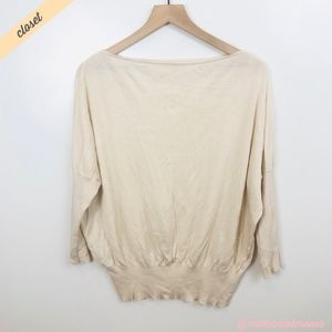 [The Limited] Cashmere Silk Dolman Sleeve Sweater